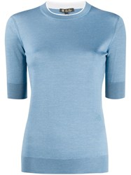 Loro Piana Short Sleeved Knitted Top 60