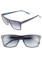 Men's Jack Spade 'Hughes' 59Mm Sunglasses Satin Navy Navy Gradient