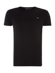 Duck And Cover Colin Short Sleeve Crew Neck T Shirt Black