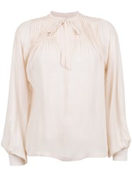Isolda Benedita Blouse Pink And Purple