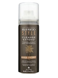 Alterna Bamboo Style Cleanse Extend Translucent Dry Shampoo Mango Coconut Mini 1.25 Oz.