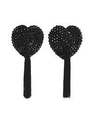 Bluebella Crystal Nipple Tassels Black39305