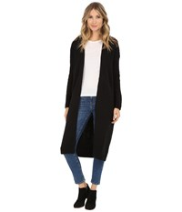 Bench Standtall Long Cardigan Jet Black Women's Sweater