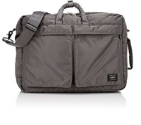 Porter Men's Tanker Briefcase Backpack Silver