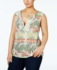 Nanette Lepore By Plus Size Sleeveless Peasant Top Only At Macy's Elliot Print