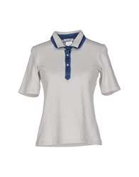 Gran Sasso Topwear Polo Shirts Women Light Grey