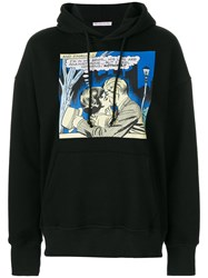 Olympia Le Tan I Feel Nothing Hoodie Cotton Black
