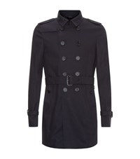 Burberry Prorsum Short Heritage Double Breasted Trench Coat Male