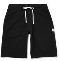 Reigning Champ Mid Weight Loopback Cotton Jersey Shorts Black