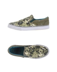 Fk Project F K Project Low Tops And Trainers Military Green
