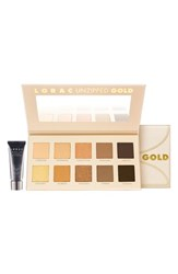 Lorac 'Unzipped Gold' Eyeshadow Palette No Color