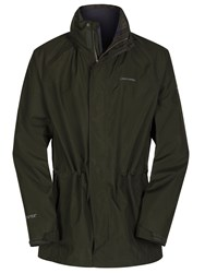 Craghoppers Ashton Long Gore Tex Jacket Evergreen