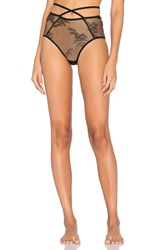 Only Hearts Club Miss Ruby High Waist Brief Black