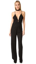 Young Fabulous And Broke Yfb Clothing Jewel Jumpsuit Black