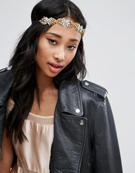 Asos Occasion Jewel Headband Gold