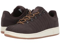 K Swiss Classic Vn Se Black Coffee Antique White Men's Tennis Shoes Brown
