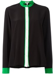 Kenzo Colour Block Blouse Black
