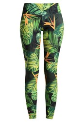 Onzie Tights Paradise Green