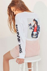 Urban Outfitters Clueless Dionne Long Sleeve Tee White
