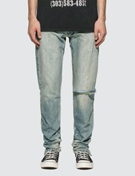 Rhude Denim 1 Jeans Blue