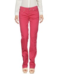 Jaggy Casual Pants Garnet