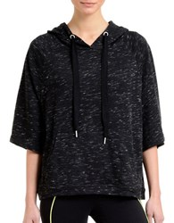 2Xist French Terry Cape Hoodie Black