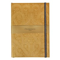 Christian Lacroix Paseo Embossed Notebook Gold B5