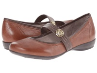 Naturalizer Garrison Bridal Brown Coffee Bean Leather Women's Maryjane Shoes
