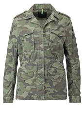 Replay Capsule Summer Jacket Camouflage Oliv