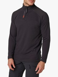Helly Hansen Hp 1 2 Zip Pullover Fleece Ebony