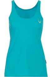 Lucas Hugh Classic Stretch Tank Turquoise