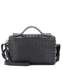 Tod's Pebbled Leather Clutch Black
