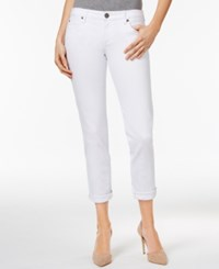Kut From The Kloth Catherine Boyfriend Jeans White