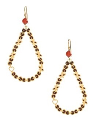 Coccinelle Earrings Maroon