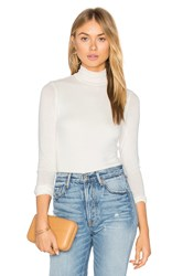 Twenty Turtleneck Bodysuit White