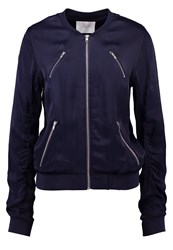 Just Female Panter Bomber Jacket Blue Stone