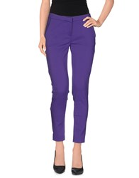Ki6 Who Are You Trousers Casual Trousers Women Purple