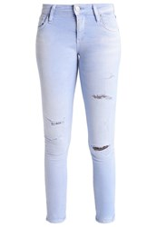 Ltb Mina Slim Fit Jeans Cerulean Wash Bleached Denim