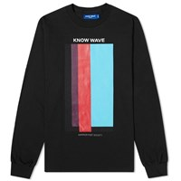 Know Wave Long Sleeve Volume Issue Tee Black
