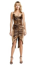 Misha Collection Mimi Dress Gold