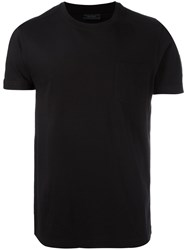 Belstaff Logo Patch T Shirt Black