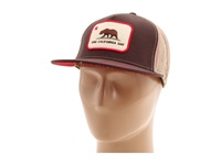 Toes On The Nose One California Day Patch Trucker Hat Brown Traditional Hats