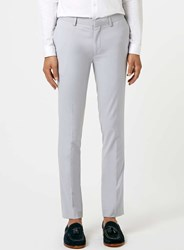Topman Light Grey Ultra Skinny Fit Suit Trousers