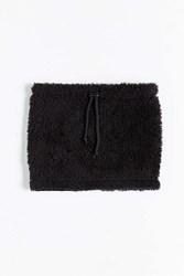 Urban Outfitters Fuzzy Snood Scarf Black