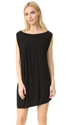 Zero Maria Cornejo Off The Shoulder Bubble Dress Black