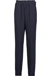 See By Chloe Crepe Tapered Pants Midnight Blue