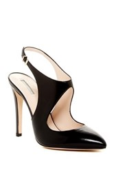 Giorgio Armani Pointed Toe Cutout Pump Black
