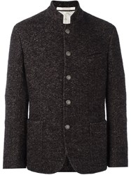 Massimo Alba Tweed Shirt Jacket Brown