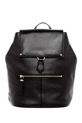 Cole Haan Ilianna Leather Backpack Black