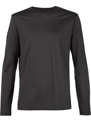 Transit Longsleeved T Shirt Grey